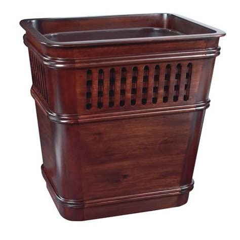 decorative wastebasket selamat designs o25 d grid decorative wastebasket with