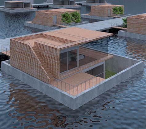 Wonen Op Een Woonboot by Drijvende Woningen Floating Homes Architect