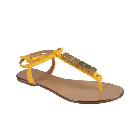 sandals s shoes dsquared s yellow wrap around ankle sandals shoes sz