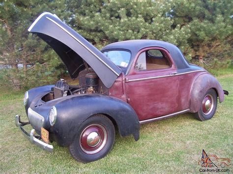 first willys original paint 1941 willys coupe