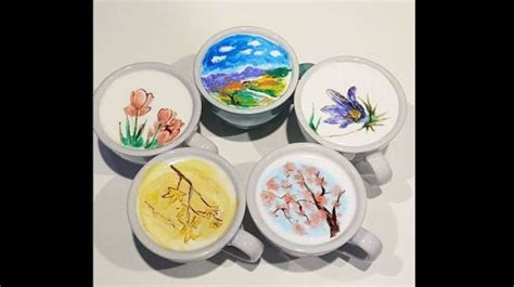 New Sendok Teh Karakter Sendok Kartun Lucu Karakter Tea Spoon barista tan ini hasilkan lukisan cantik dalam secangkir kopi uzone