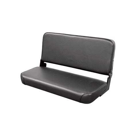 bench seat wise bench seat with folding back black model wm1663