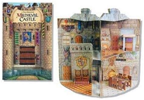 Renaissance Pop Up Book castle pop up book pop up books literature paper doll house and paper