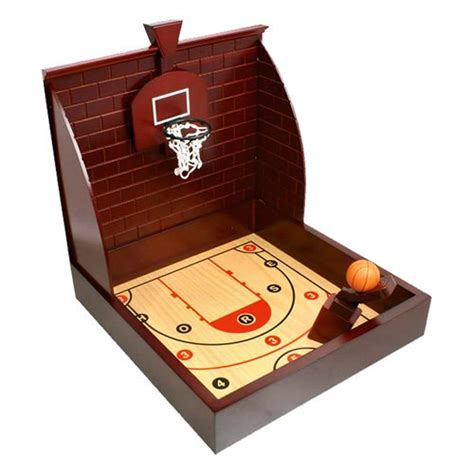 chh wooden basketball table top mini hoops at hayneedle