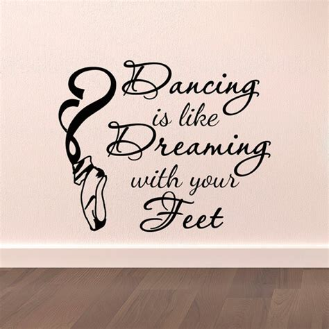 dancer wall stickers wall decal stickers is like dreaming with your