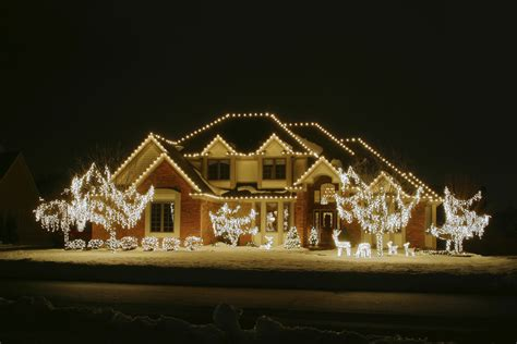 outdoor lighting xmas ideas rumah minimalis