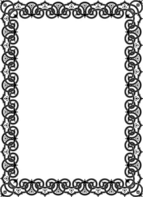 template undangan hitam putih pics for gt bingkai undangan tahlil hitam putih