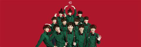 Do Exo Postcard Miracle In December Green Version exo s miracles in december concept