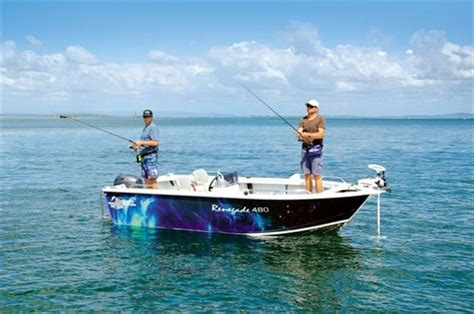 bass hunter boat specs stessco renegade 480 review trade boats australia