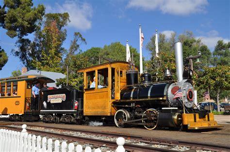 Backyard Trains Old Poway Park Steam Train Youtube