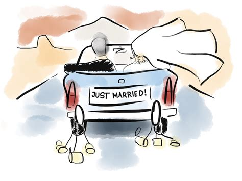 Just Married Auto Zum Ausdrucken by How To Live Happily Ever After With Your Customers