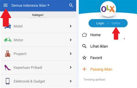 cara membuat iklan di olx cara mudah buat akun olx co id lewat android untuk
