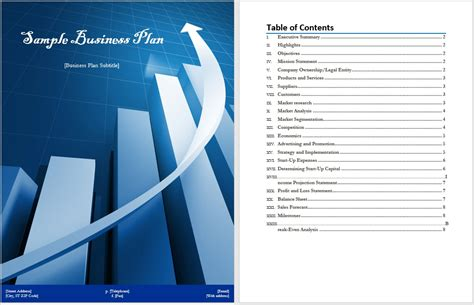 sle business plan templates microsoft word templates