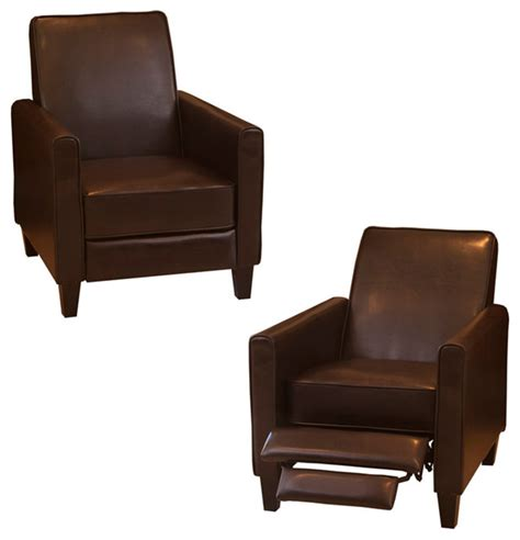 jamestown recliner jamestown brown leather recliner chair traditional
