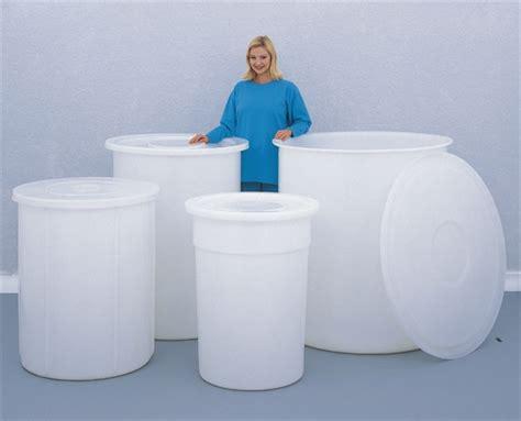 Safety Vase Large Capacity Round Storage Bins Camlab Uk