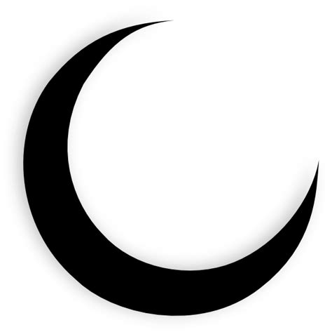moon tattoo png moon silhouette google search shapes line