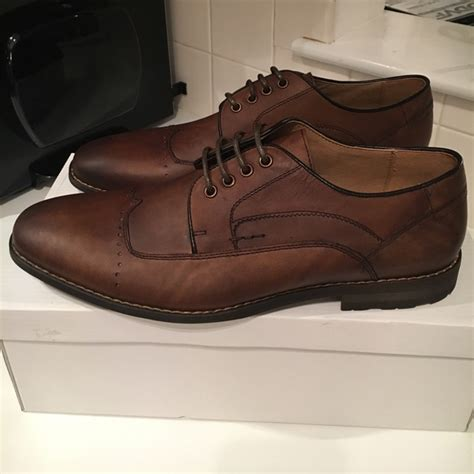 28 steve madden other steve madden leather oxford dress shoes size 10 from s closet
