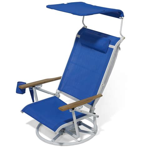 beach chair with awning best beach chair with canopy sadgururocks com