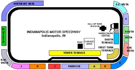 indianapolis motor speedway seating chart indianapolis motor speedway seating chart