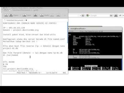 cara konfigurasi dns server di virtualbox cara instalasi konfigurasi web server linux centos apa