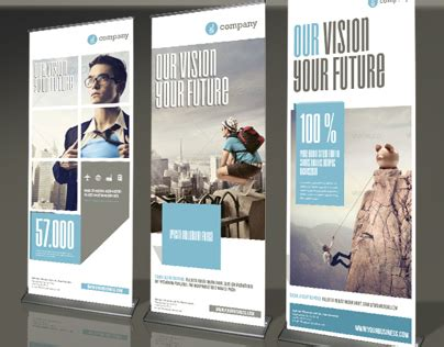 best design x banner corporate banner or rollup vol 3 on behance