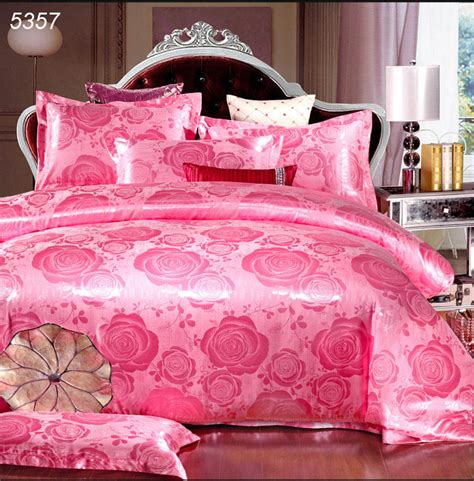 pink bed set pink satin comforter promotion shop for promotional pink