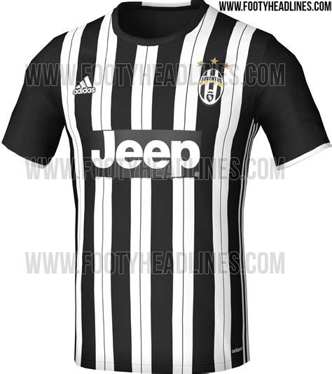 Jersey Juventus Home 2016 2017 juventus 16 17 home kit leaked footy headlines