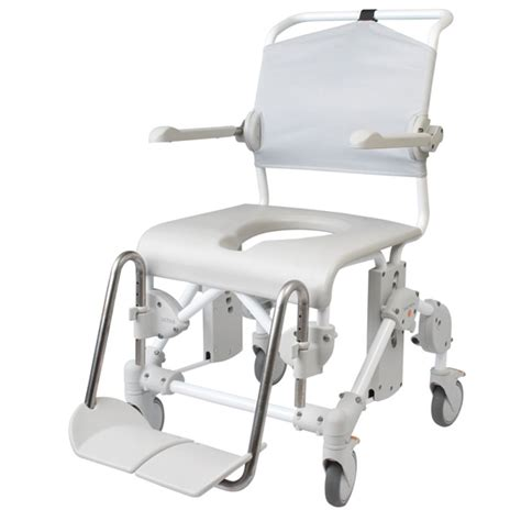etac shower chair parts etac mobile shower commode assembled with pan holder
