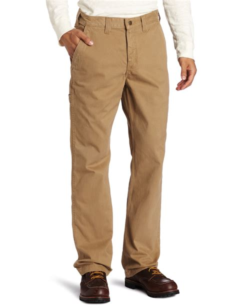 carhartt rugged work khaki pant carhartt s relaxed fit rugged work khaki pant brown