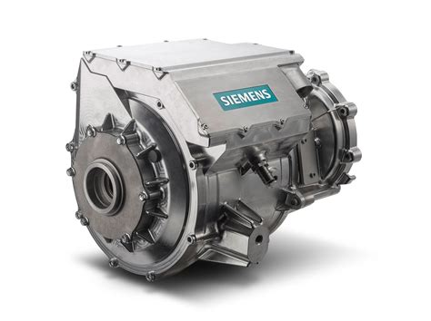 car motor siemens integrates electric car motor inverter into single