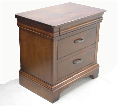 maple night stands bedroom oakwood edinburgh maple nightstand hope home furnishings