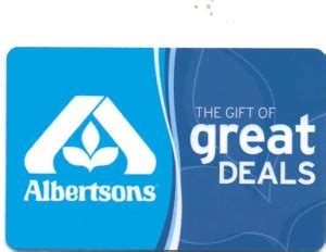 Albertsons Gift Card Deal - albertsons 187 gift cards