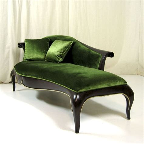 green chaise lounge gorgeous green velvet chaise inspiration furniture
