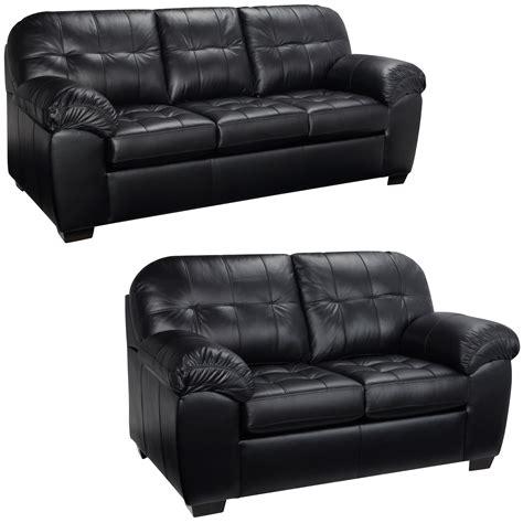 tufted leather sofa black black tufted leather sofa used