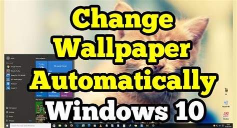 wallpaper windows 10 how to change change wallpaper automatically on windows 10 youtube
