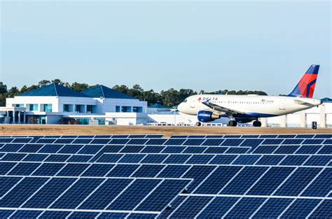 Cost Of A Columbia Mba by Airport Looks To Sun To Trim Energy Costs Generate