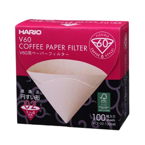 Bonus Cloth Filter V60 Ukuran 02 Coffee Dripper Gater Mirip Hario v60 paper filter 02 m 100 sheets box hario co ltd