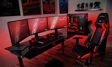 best pc gaming desk best gaming desk in 2018 the desks in every gamer