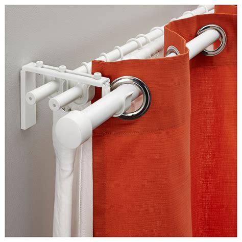 cortinas sin hacer agujeros ikea r 196 cka juego barra cortina triple