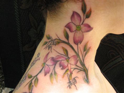 dogwood tattoo pin dogwood tree designs tattoos on