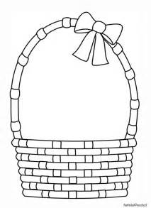 Basket Template by Easter Basket Pattern Nuttin But Preschool