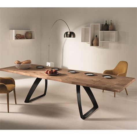 tavolo di legno allungabile tawer tavolo allungabile industrial design in legno