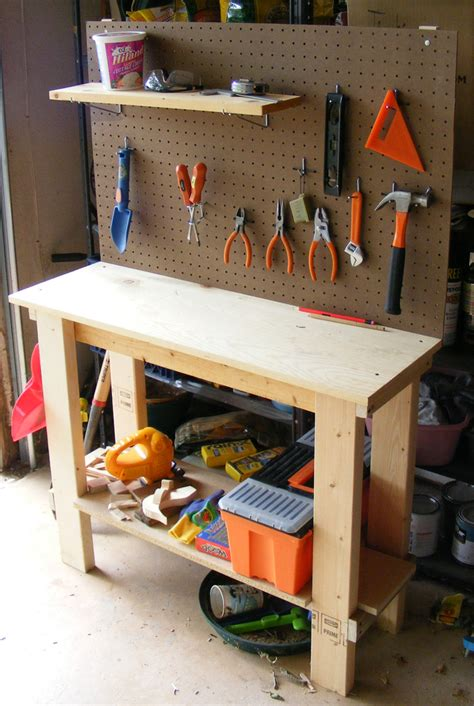 childs wooden work bench wood child s workbench pdf plans