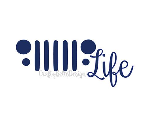 jeep life decal jeep life decal jeep vinyl decal car decal laptop