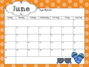 free word calendar template june calendar word template