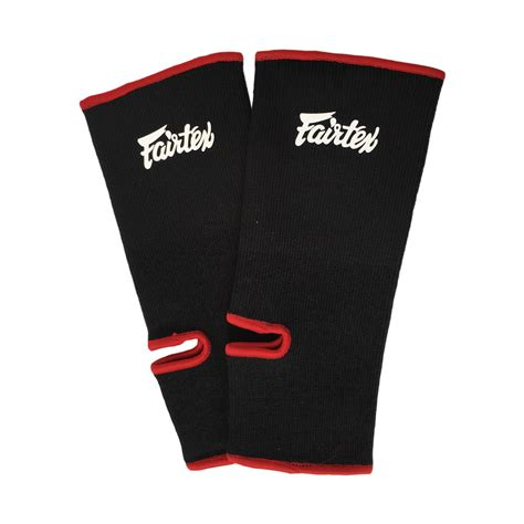 fairtex as1 ankle supports black mma fight store