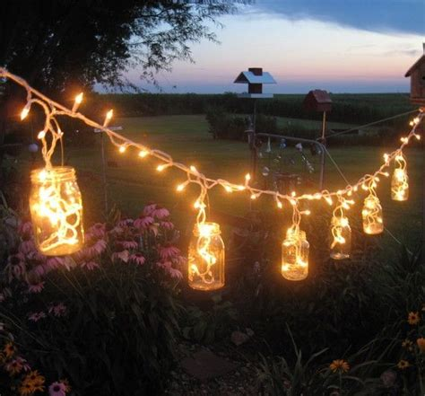 how to light up a backyard party diy garden party lights