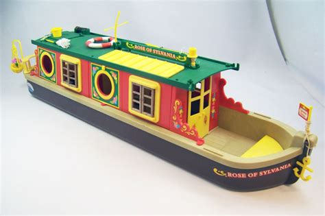 canal boat etiquette mapletown sylvanian families village canal boat