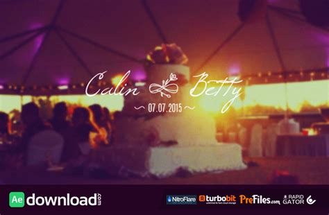 wedding templates after effects download 30 wedding titles videohive free download free after