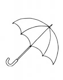 drawings umbrella colouring pages 2